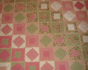 Rag Quilt Stack Rag Quilt Mailed Paper Pattern by Sew Practical, Mom and Pop Craft