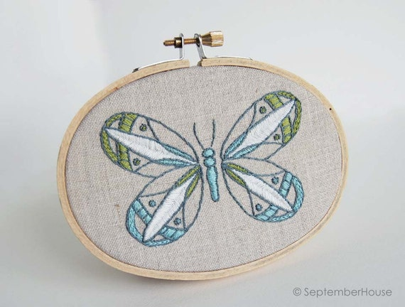 Hand embroidery patterns kaleidoscope butterfly embroidery for Embroidery office design version 9