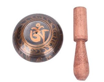 Singing Bowl Tibetan Meditation Hammered Yoga Copper Chakra Hammered Singing Bowl