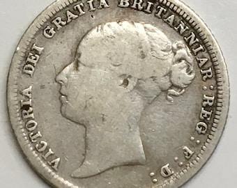 1882 six pence