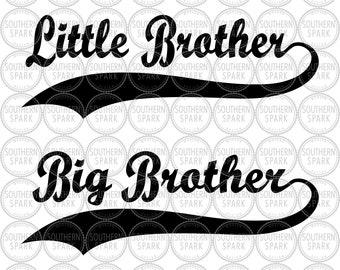 Download Little brother svg | Etsy
