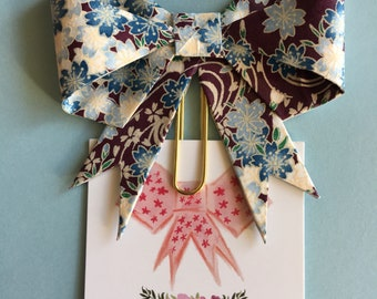 Handcrafted Paper Clip Bow
