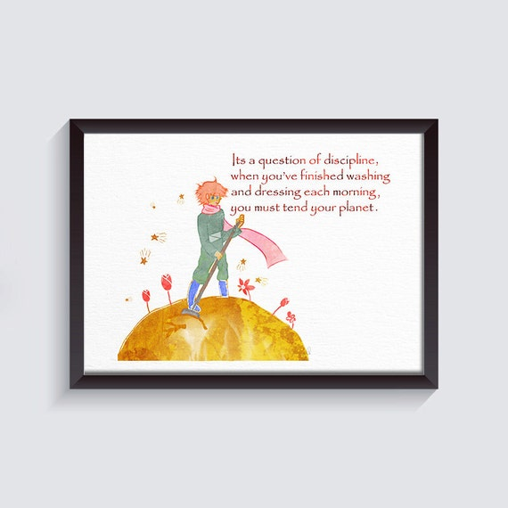 Nursery Ideas And Décor To Inspire You: Inspirational Quote Nursery Decor Little Prince Quote Print