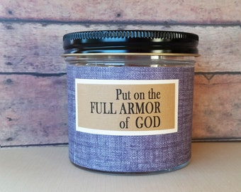Put on the Full Armor of God, Christian bible verses, Christian gifts for him, Gifts for Dad, Graduation, Christian men, teacher gift