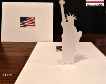 Statue of Liberty... Patriotic USA Symbol Item 1174 Outline details