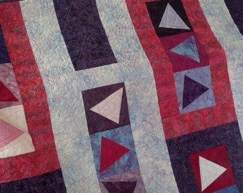 Quilt - Stop & Go Abstract - Ready to Ship