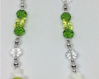 Twisted Lime Necklace
