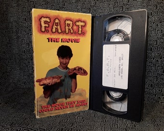 FART The Movie Rare VHS Video 1991, Really bad movie about farts and farting