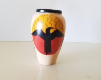 Mini African inspired ceramic