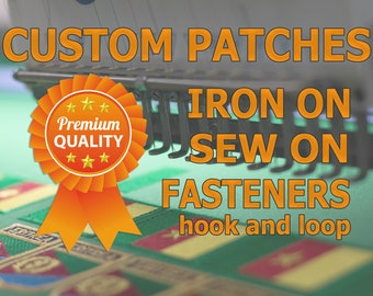 Produce Custom Patches. Service, Digitizer, Embroidery