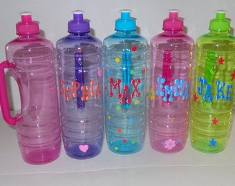 Water Bottle with Handle/Cup/Personalized water bottle