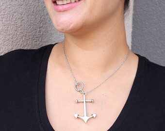 Sail Away Anchor Pendant