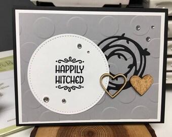 handmade greeting card for weddings