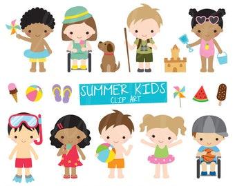 kids clipart etsy rh etsy com clipart kids 2018 clip art kids