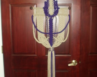 Macrame Wall Hanging Charmed and Charming