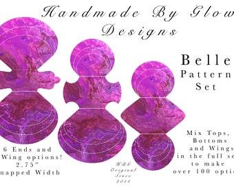 "2.75"" Belle Cloth Pad Pattern"