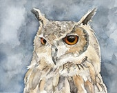 Great Horned Owl Painting...