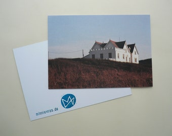 House, eight postcards, postcards, set, minnievoss, Cornwall, analog photography, offset printing house