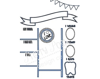 Birthday Board  SVG Digital Cutting File  for Cricut Silhouette SVG Downloadable File