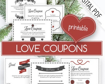 Coupon, Naughty Coupons,Love Coupons, Love Coupon, Love Coupon Book, Printable Coupons, Husband Coupons, Valentines Gift, DIGITAL DOWNLOAD