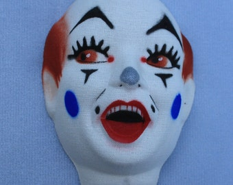 Clown Doll Heads Vintage New Old Stock