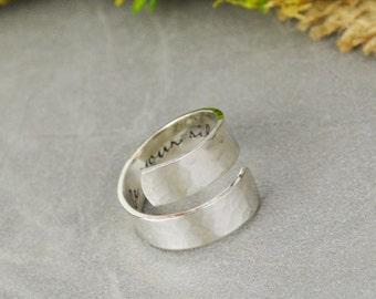 Customizable Wrap Ring