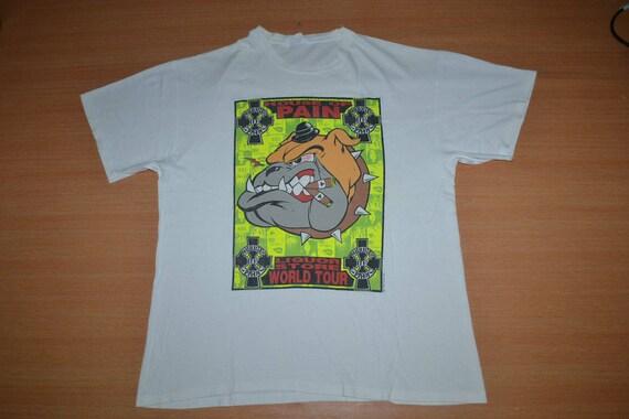 PAIN T OF Vintage 90s 1993 shirt Hip Promo Tour Album Cypress Hop HOUSE Hill Uk RqRtOa