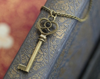 Bronze Key Necklace 3