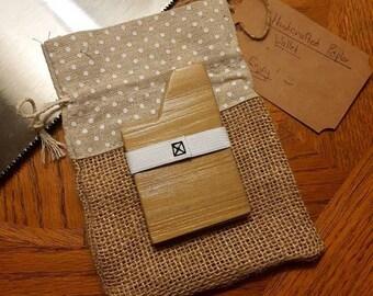 Handcrafted Poplar Wallet
