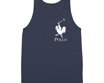 Pollo Funny Polo Spanish Chicken Golf Horse Tank Top DT0348