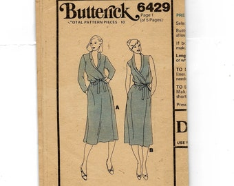Butterick Misses' Dress Pattern 6429
