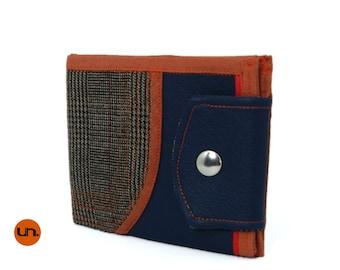 Vegan Leather Wallet, Vegan Wallet, Billfold Wallet, Leather Wallet, Cool Wallet, Bifold Wallet - UNUSUAL Wallet