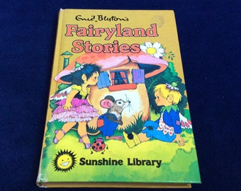 Fairyland Stories by Enid Blyton. A Vintage Childrens Book