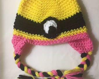 Crocheted Character Hat