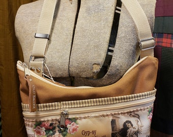 Gypsy Purse with Tons of Pockets Little Purse.  Free Shipping