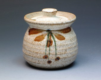 Robert Tinnyunt Jar, Stoneware Pottery Jar, Handmade Handthrown Pottery, David Leach Apprentice, Lowerdown Pottery