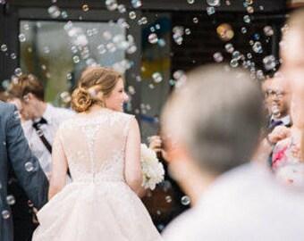100 Bubbles Mini Bubble Bottles Wedding Bubbles Mini Bubbles Party Bubbles Bubbles Favors Bubble Bottles