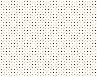 Brown Polka Dot Fabric - Riley Blake Swiss Dot Fabric - Brown Dot Fabric - Le Creme Dot Quilting Fabric By The 1/2 Yard
