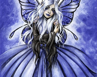 Azure Fairy 8x10 inches Print it Yourself Downloadable Print