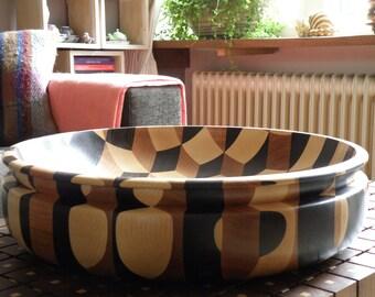 Tumbling bowl xl ''Dark Wenge''