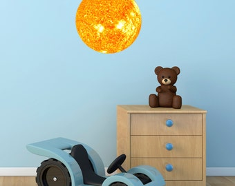 Sun Wall Sticker - Space Themed Wall Sticker
