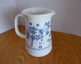 Vintage Figgjo Flint LOTTE Ceramic 32 Ounce Jug Made in Norway Circa 1970s