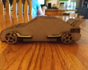 3D Car Puzzle