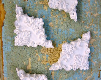 Shabby Chic FURNITURE APPLIQUES corners   5.95 shipping USA