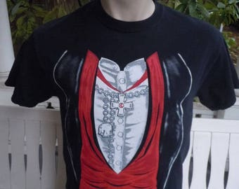 Size M- (42) ** Vampire Tuxedo Shirt