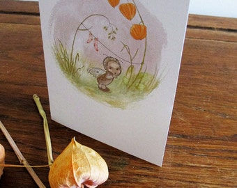 SALE Moth Card