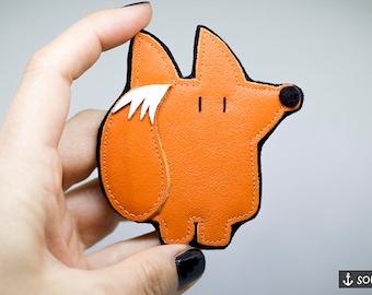 Fox Brooch *Lucky Fox* - Badge | Pin