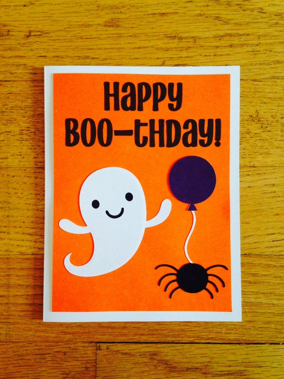 Happy birthday card happy boo thday halloween bookmarktalkfo Images