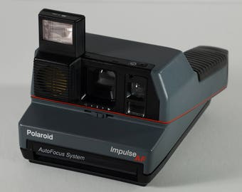 polaroid impulse 600 instant camera land flash cam with box rh etsy com Instant Polaroid Camera Colors polaroid impulse user manual