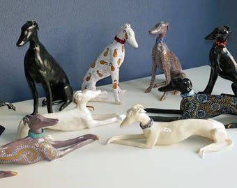 Ceramic Sighthounds